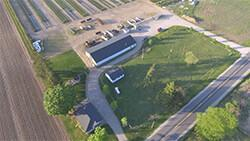 ariel view of a property for sale